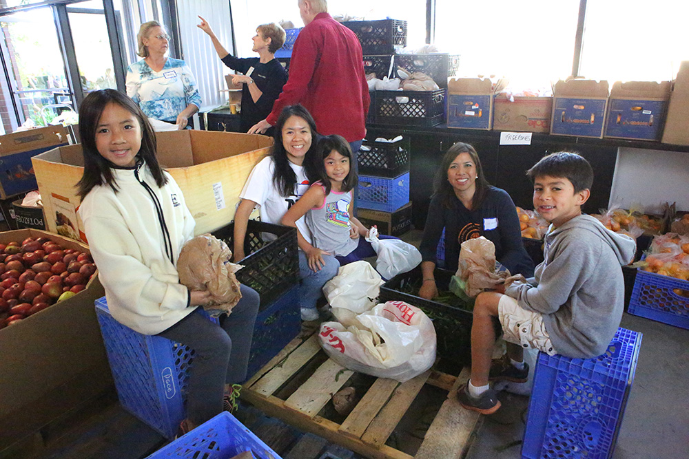 Thanksgiving Distribution Families Forward