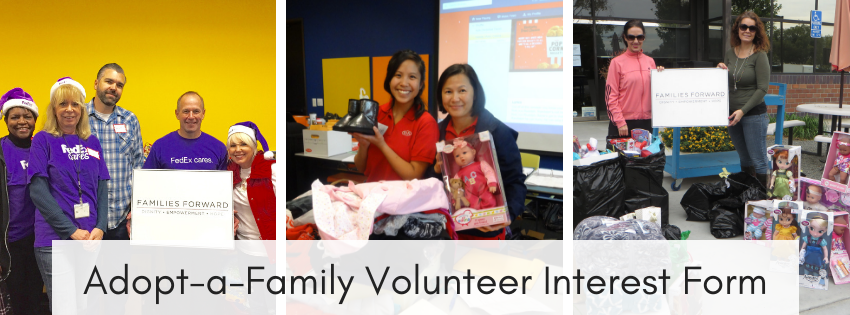 Adopt-a-Family Volunteering